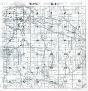 Township 9. N., Range 4 E. - Plain, Sauk County 1921